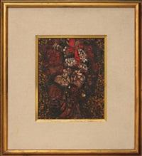 portrait - bouquet ( portrait - bunch of flowers ). by marios prassinos
