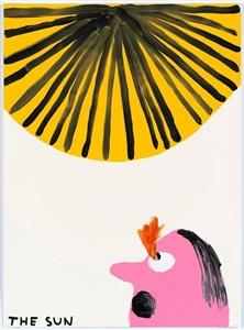 untitled the sun by david shrigley