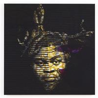 self portrait (after warhol) 4 by yinka shonibare mbe
