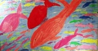 big fish, little fish by walasse ting