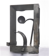 table piece y-84 small measures by sir anthony caro