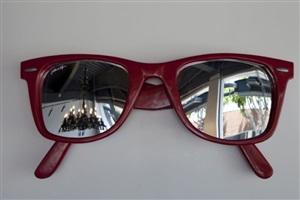 way too big (red) by jason alper
