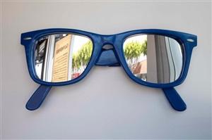 way too big (blue) by jason alper