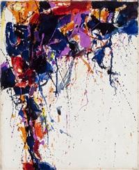 untitled (sff.262) by sam francis
