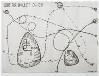 score for ballet 0-100, from the vvv portfolio by alexander calder