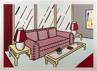 red lamps by roy lichtenstein