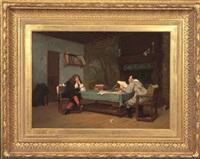a collaboration (molière and corneille) by jean-léon gérôme
