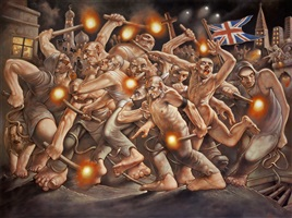 meshuggah by peter howson