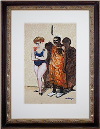 les artistes du cirque (inventory #5819d) by kees van dongen