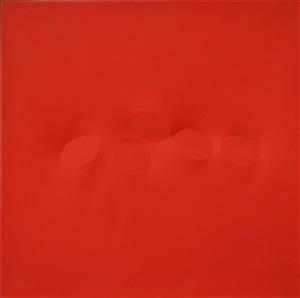 cinque ovali rossi by turi simeti