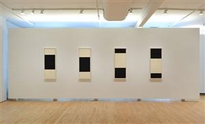 installation view by richard serra
