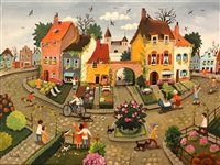 the little traffic circle by marie-louise batardy