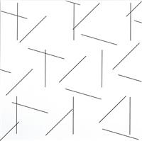 3 d concertant n° 5 : 45° 90° 16° by françois morellet