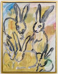 chinensis rabbit 5 by hunt slonem