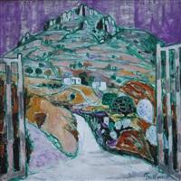 sardinian landscape by julian trevelyan
