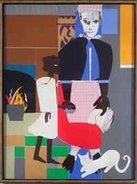 mother and child by romare bearden