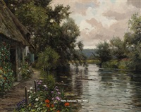 cottage by the river by louis aston knight