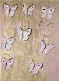 pink butterflies (chl1983) by hunt slonem
