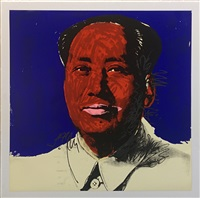 mao 1972 f&s ii.98 by andy warhol
