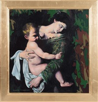 mother and child by giancarlo impiglia