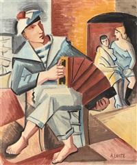 le marin à l'accordéon by andré lhote