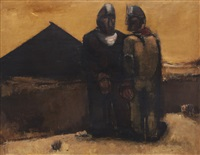 miners by josef herman