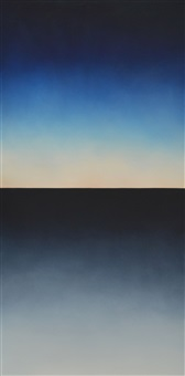 the view from here, westward painting 3 by alex weinstein