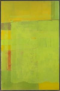 untitled (aerial view, green) by rob fischer