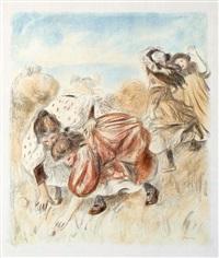 enfants jouant a la balle by pierre-auguste renoir
