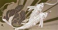 untitled on chipboard by swoon