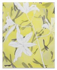 spectrum (white flowers) by paul heyer