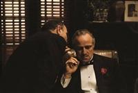 "the whisper i marlon brando in ""the godfather"", new york by steve schapiro"