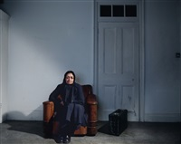 the long wait<br> from the series: border by mitra tabrizian