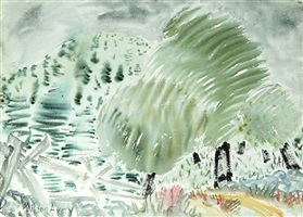 after the rain by milton avery