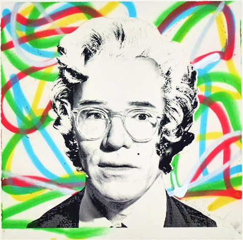 andy warhol marilyn monroe by mr brainwash