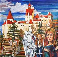 romania - brashow bran castle by galip özgören