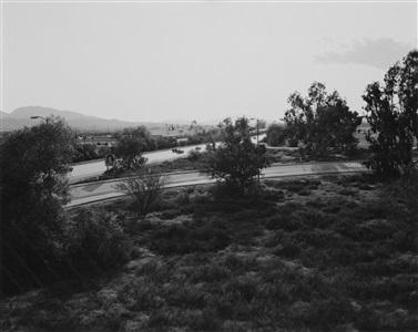 looking toward los angeles interstate 10 west edge of redlands california by robert adams