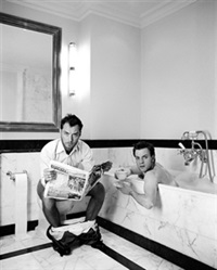 jude and ewan in bath by lorenzo agius