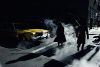 crosswalk, new york city, ny by ernst haas