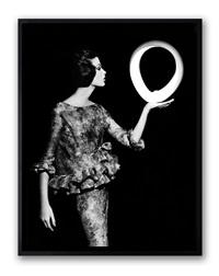 dorothy + big white circle, paris by william klein