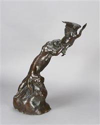 whirlwind (tiger and bird) by anna vaughn hyatt huntington