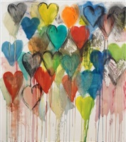 cold spring hearts #2 by jim dine