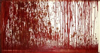 papierarbeit by hermann nitsch