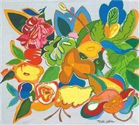mille fleurs by romare bearden