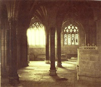 lady chapel wells cathedral by roger fenton