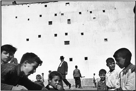 madrid by henri cartier bresson