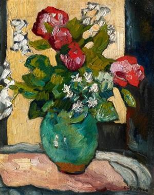 bouquet de camélias by louis valtat