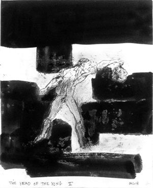 the head of the king ii by leon golub