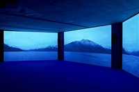 exhibition view: approximation in the digital age to a humanity condemned to disappear by mario pfeifer