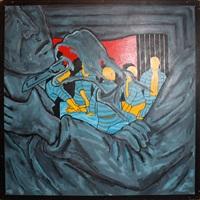 gang rape by david wojnarowicz